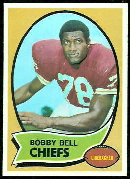 Bobby Bell 1970 Topps football card