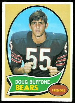 Doug Buffone 1970 Topps football card