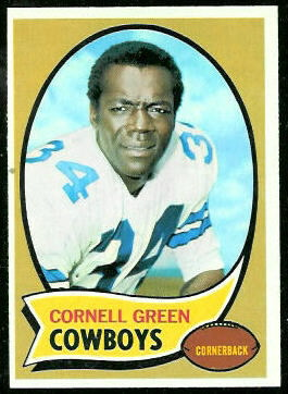 Cornell Green 1970 Topps football card