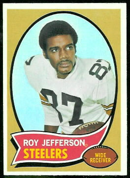 Roy Jefferson 1970 Topps football card