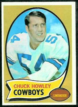Chuck Howley 1970 Topps football card