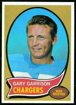 Gary Garrison 1970 Topps football card