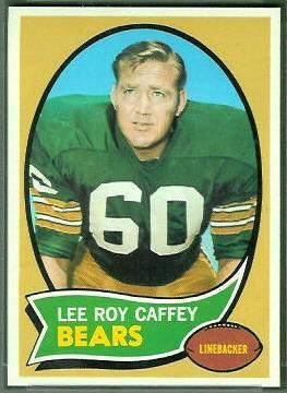 Lee Roy Caffey 1970 Topps football card
