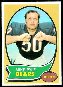 Mike Pyle 1970 Topps football card