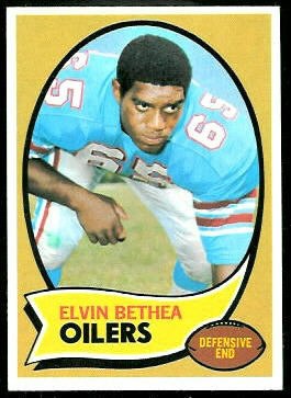 Elvin Bethea 1970 Topps football card