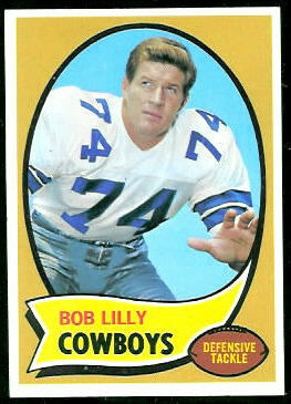 Bob Lilly 1970 Topps football card