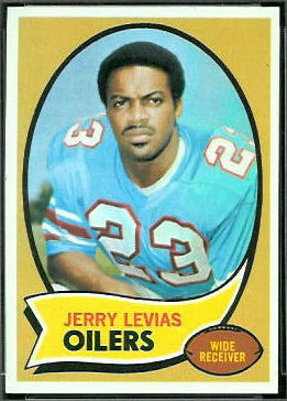 Jerry LeVias 1970 Topps football card