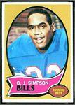 1970 Topps O.J. Simpson