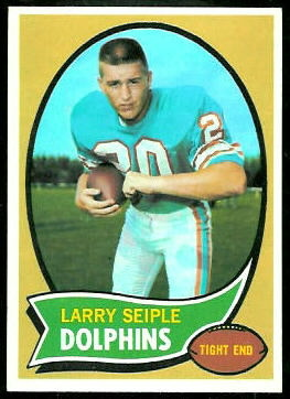 Larry Seiple 1970 Topps football card