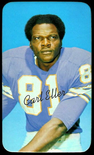 Carl Eller 1970 Topps Super football card