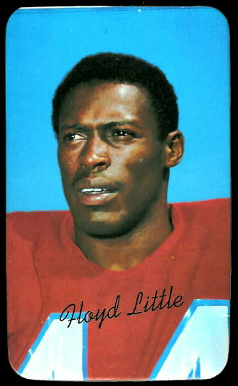 Floyd Little 1970 Topps Super football card