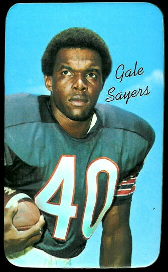 Gale Sayers 1970 Topps Super football card