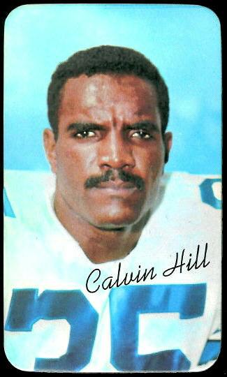 Calvin Hill 1970 Topps Super football card