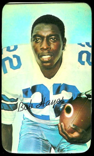 Bob Hayes 1970 Topps Super football card