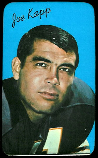 Joe Kapp 1970 Topps Super football card
