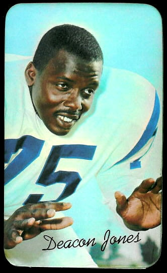Deacon Jones 1970 Topps Super football card