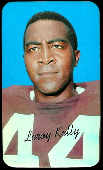 Leroy Kelly 1970 Topps Super football card