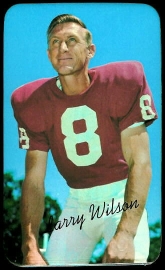 Larry Wilson 1970 Topps Super football card