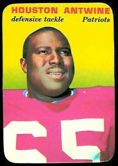Houston Antwine 1970 Topps Super Glossy football card