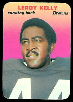 Leroy Kelly 1970 Topps Super Glossy football card