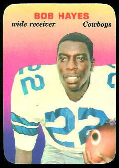 Bob Hayes 1970 Topps Super Glossy football card