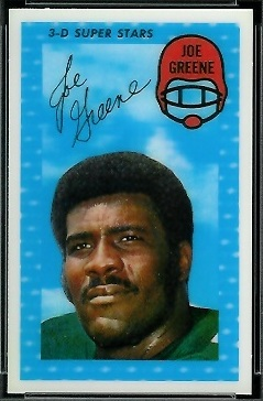 Joe Greene 1971 Kelloggs football card