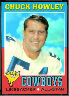 Chuck Howley 1971 Topps football card