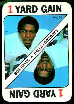 Bob Hayes 1971 Topps Game football card