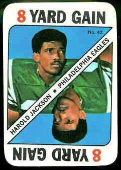Harold Jackson 1971 Topps Game football card