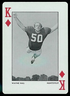 Wayne Hall 1972 Alabama Playing Cards football card