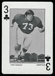 1972 Alabama Playing Cards John Hannah