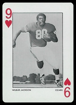 Wilbur Jackson 1972 Alabama Playing Cards football card