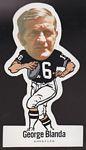 1972 NFLPA Vinyl Stickers George Blanda