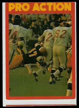 Pro Action 1972 O-Pee-Chee CFL football card
