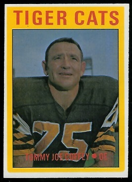 Tommy Joe Coffey 1972 O-Pee-Chee CFL football card
