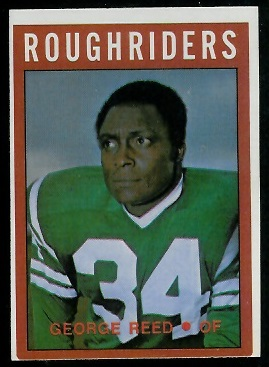 George Reed 1972 O-Pee-Chee CFL football card