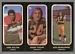 1972 O-Pee-Chee Stickers John Helton, Bobby Taylor, Dick Wesolowski