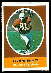 Ernie McMillan 1972 Sunoco Stamps football card
