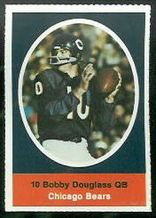 Bobby Douglass 1972 Sunoco Stamps football card