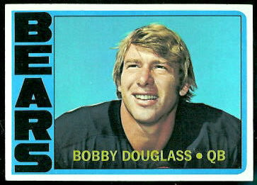 Bobby Douglass 1972 Topps football card