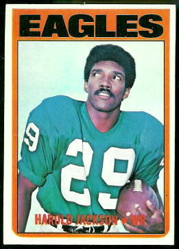 Harold Jackson 1972 Topps football card