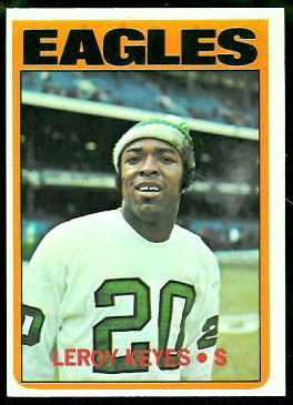 Leroy Keyes 1972 Topps football card