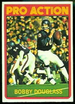 Bobby Douglass Pro Action 1972 Topps football card