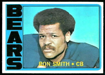 Ron Smith 1972 Topps football card
