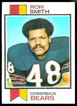 Ron Smith 1973 Topps football card