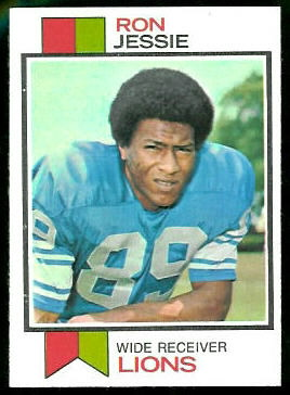 Ron Jessie 1973 Topps football card
