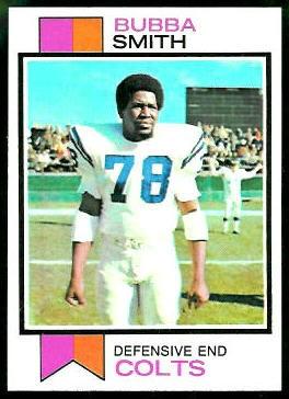 Bubba Smith 1973 Topps football card