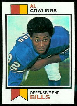 Al Cowlings 1973 Topps football card