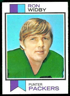 Ron Widby 1973 Topps football card