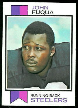 John Fuqua 1973 Topps football card